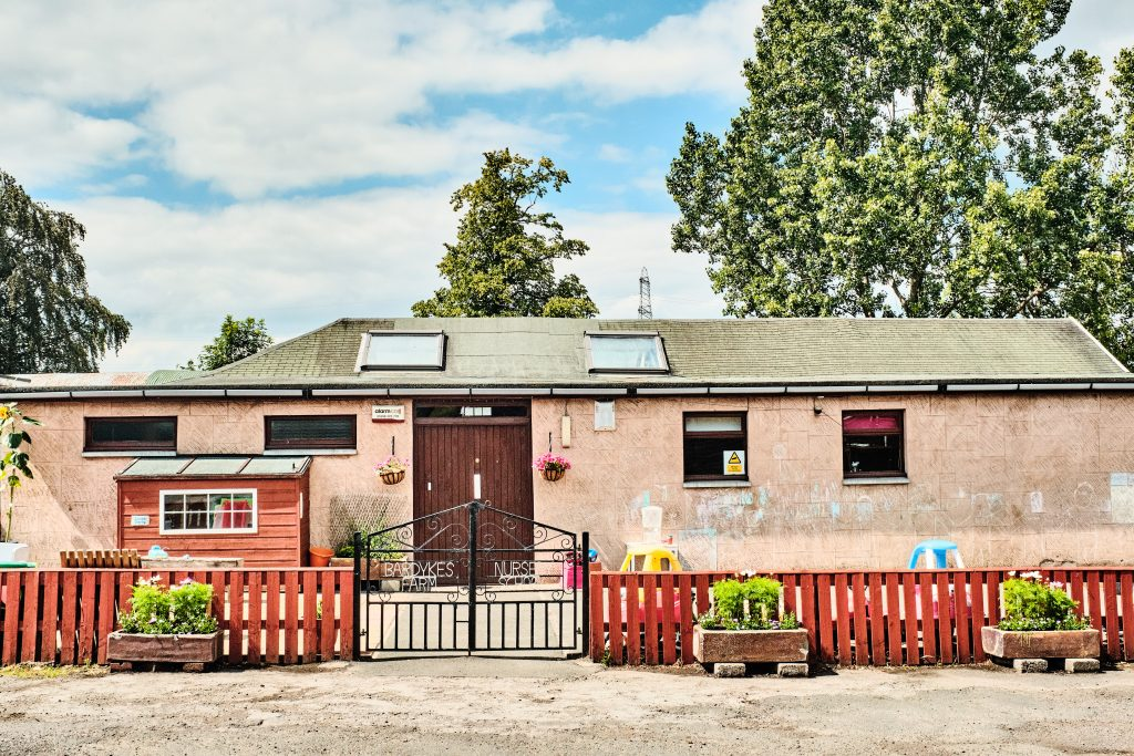 colour photograph of Bardykes Farm Nursery